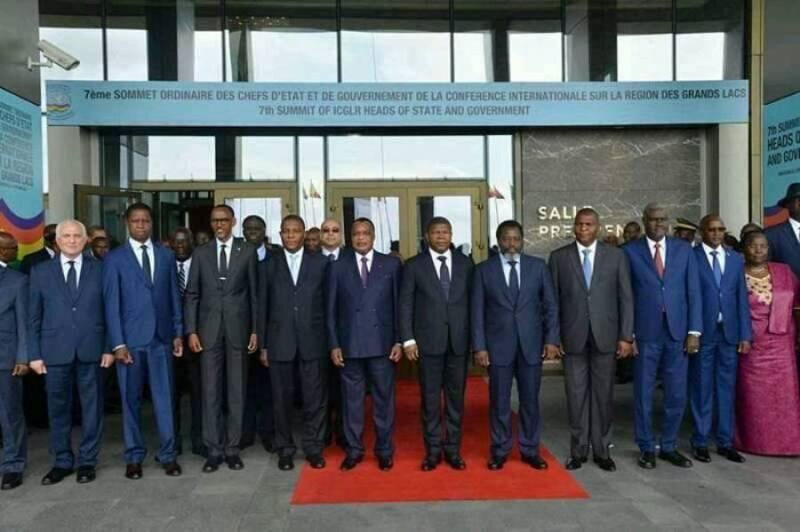 SOMMET DE BRAZZAVILLE SUR LA RDC