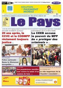 Le Journal du  07-09/12/2018