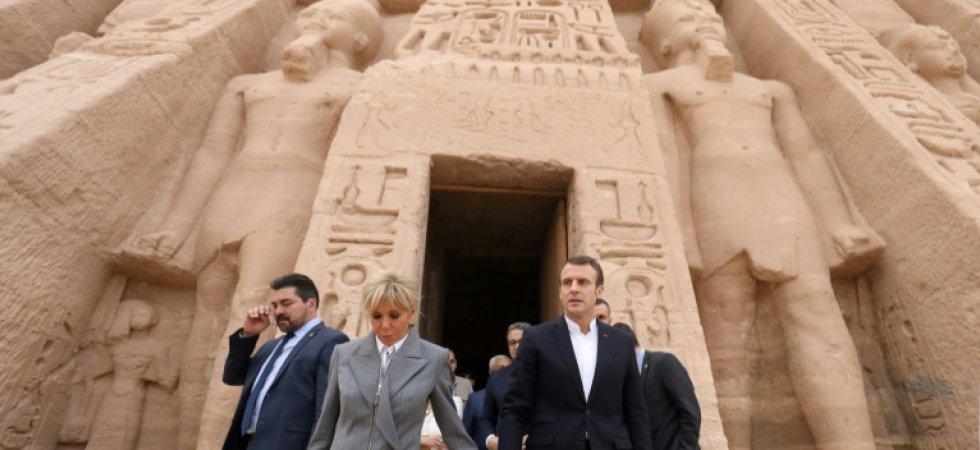 VISITE DU PRESIDENT FRANÇAIS EN EGYPTE