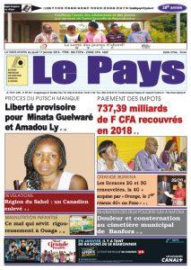Le Journal du 17/01/2019