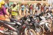 SECURITE ROUTIERE : Plus de 700 engins saisis pour défaut de plaques d'immatriculation