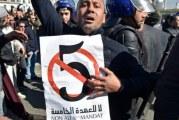 MANIFESTATIONS CONTRE UN 5E MANDAT DU PRESIDENT ALGERIEN