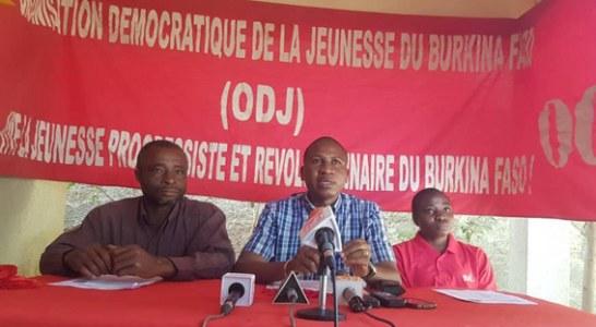 LUTTE CONTRE LE TERRORISME ET LA LIBERTE D'EXPRESSION     « Le MPP utilise des moyens policiers pour réprimer toutes formes de contestation », selon Gabin Korbéogo, président de l'ODJ