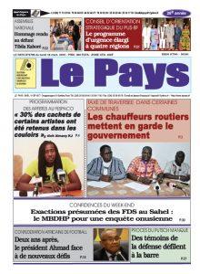 Le Journal du 18/03/2019