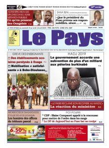 Le Journal du 19 au 22/04/2019