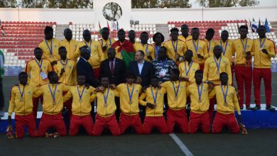 Photo of JEUX AFRICAINS:Le Burkina Faso médaillé d'or en football