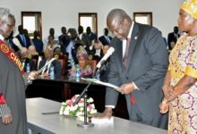 Photo of INVESTITURE DE RIEK MACHAR COMME VICE-PRESIDENT AU SOUDAN DU SUD