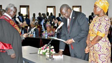 Photo of INVESTITURE DE RIEK MACHAR COMME VICE-PRESIDENT AU SOUDAN DU SUD