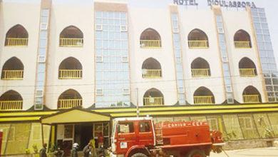 Photo of INCENDIE A L'HOTEL DIOULASSOBA DE BOBO-DIOULASSO