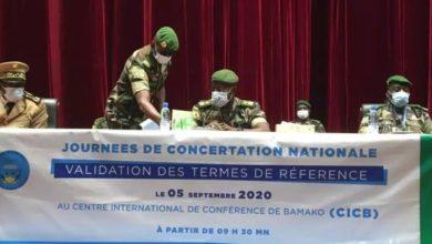 Photo of REPRISE DES CONCERTATIONS NATIONALES AU MALI