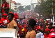 Photo of REPRISE DE MANIFS CONTRE UN TROISIEME MANDAT DU PRESIDENT GUINEEN