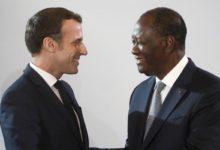 Photo of LE PRESIDENT IVOIRIEN A L'ELYSEE