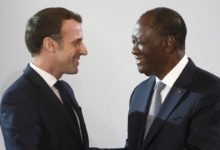 Photo of LE PRESIDENT IVOIRIEN A L'ELYSEE