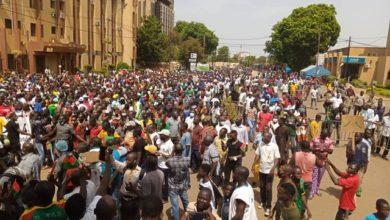 Photo of MARCHES DU CFOP CONTRE L'INSECURITE AU BURKINA