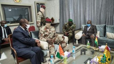 Photo of DEFIANCE DE L'ORGANISATION OUEST-AFRICAINE PAR LES PUTSCHISTES GUINEENS ET MALIENS